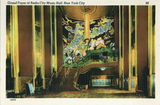 Radio City Music Hall, Grand Foyer, Postcard