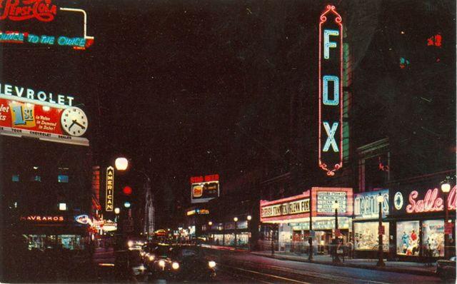 1955 postcard courtesy The Route 66 Association of Missouri.