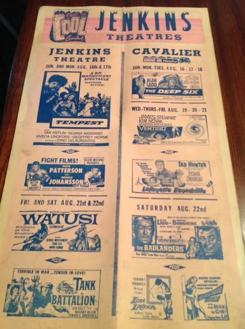 1959 poster courtesy Leonard Hughes.