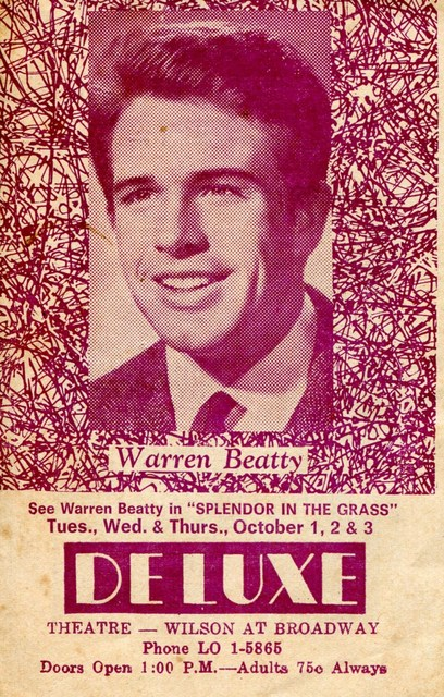 Deluxe Theater Handbill