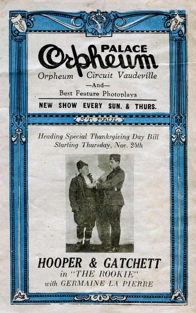 1927 Program (front)