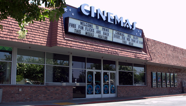Prime Cinemas, Red Bluff, CA -- 2011