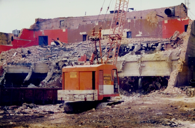 derby ABC Regal during demolition