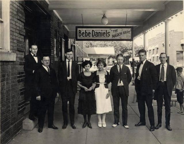 1921 photo courtesy Dave Taylor.