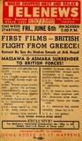 Telenews postcard 1941