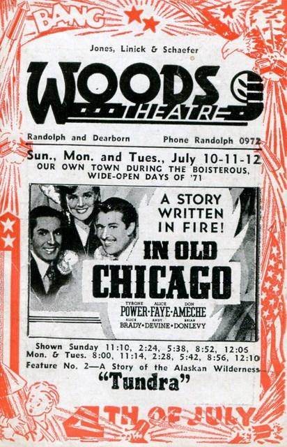 1937 Program (Front)
