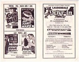 Flyer for Lauderdale Drive-In