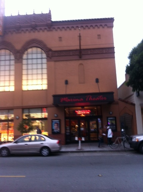 Marina Theater, Oct 2011