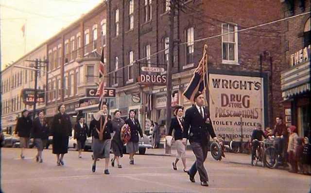 Regent marquee far right. Photo courtesy Dean Hyatt.