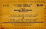 Avaloe Theater Punch card