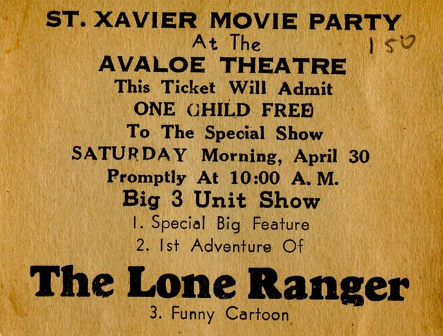 Avaloe Theater Promo Card