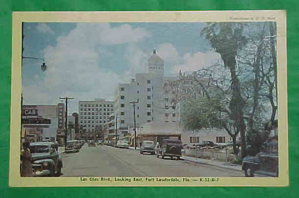 Warnor, looking west on Las Olas Blvd.