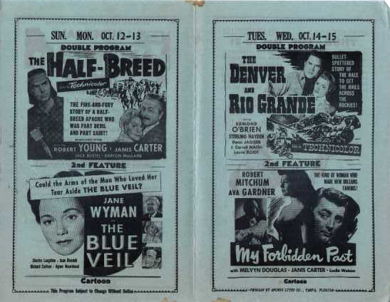 Lauderdale Drive-In Ad - back
