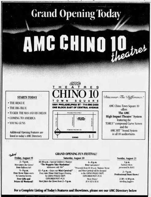 AMC Chino 10