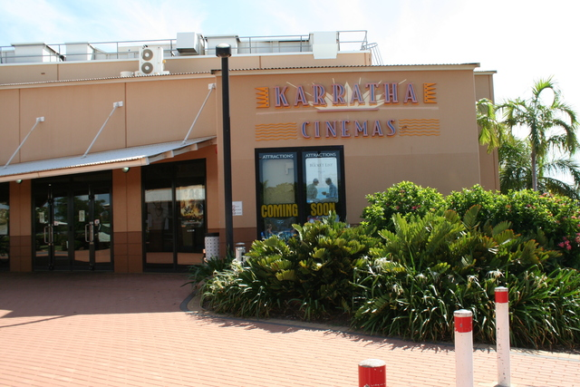 Karratha Cinemas  Sharpe Avenue, Karratha, WA - Closed