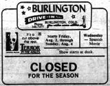 Burlington Drive-In