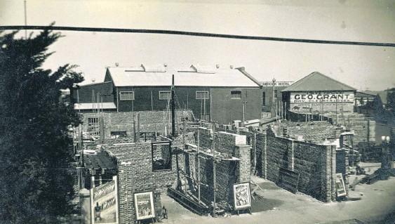 Radio Theatre 205 Marine Terrace, Geraldton, WA - Building the Radio Theatre #
