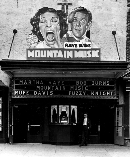 Mountain Music, staring Martha Raye and Bob Burns