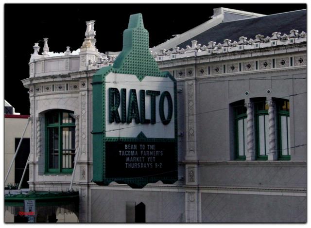 Rialto© Tacoma WA