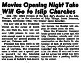Islip Theater opening news