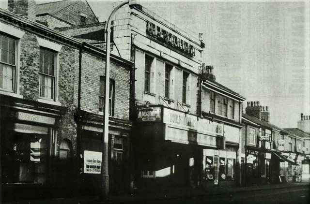 The Alexandra seen at around the time of its closure in November, 1961.