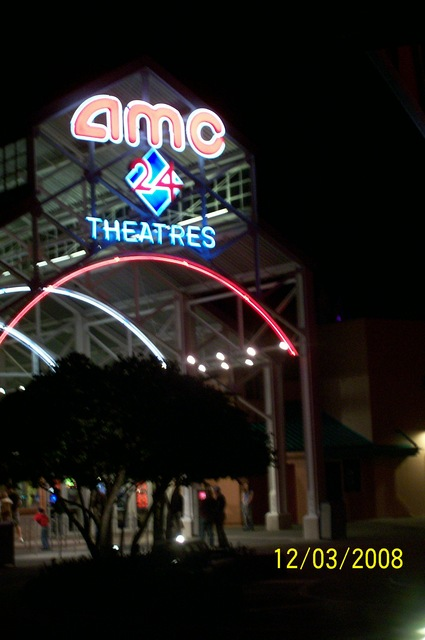 AMC Downtown Disney 24, as AMC Pleasure Island 24, facing Planet Hollywood