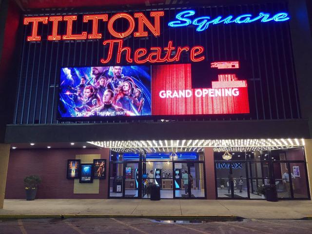 The NEW Tilton Square Theatre, 2019