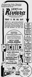 <p>Grand opening ad from February 16th, 1956</p>