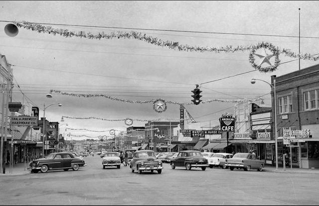 Circa 1955 photo credit  Taylor Public Library via the Portal to Texas History.