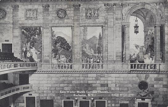 Ezra Winter Murals Eastman Theatre, Rochester, N. Y.