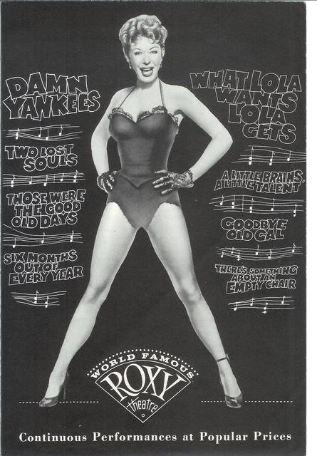 NYC ROXY 1958
