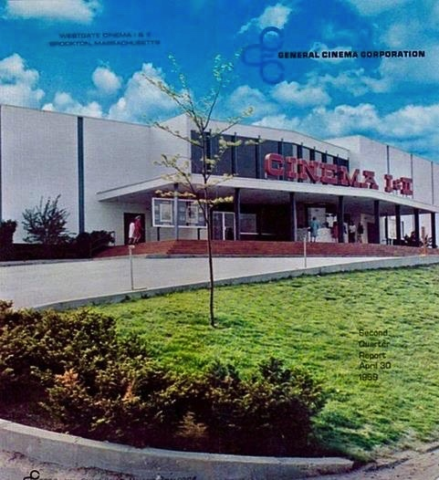 CINEMA ONE AND TWO WHILE LARRY GLEASON WAS MANAGER AND Dennis Mahaney ASST. MANAGER