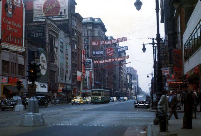 1948 photo via Arnold Fusco.
