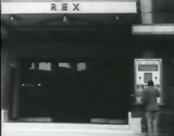 Rex Cinema Cambridge as seen in the William Burroughs film Towers Open Fire