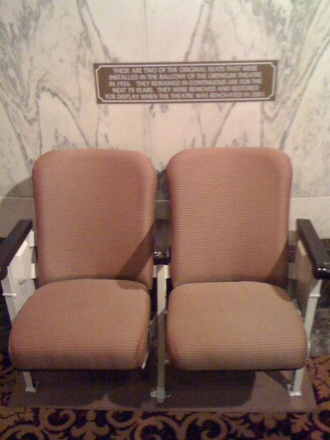Original seats