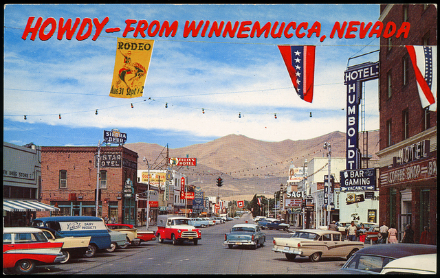 1957 postcard courtesy Roadside Pictures.