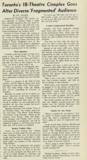 Box Office Magazine article, April 30th, 1979