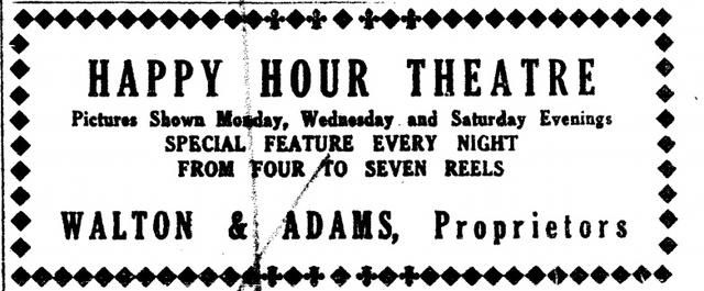 Happy Hour Theatre