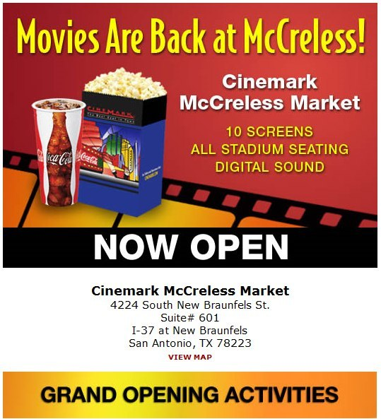 Cinemark McCreless Market