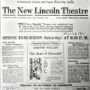 LINCOLN Theatre; Kenosha, Wisconsin.