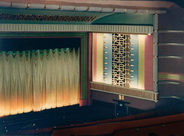 La Scala proscenium and splay wall
