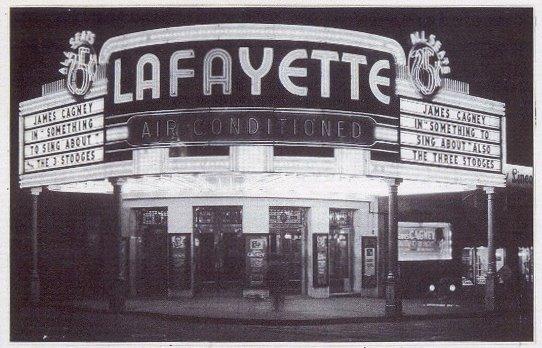 Lafayette Theatre Marquee