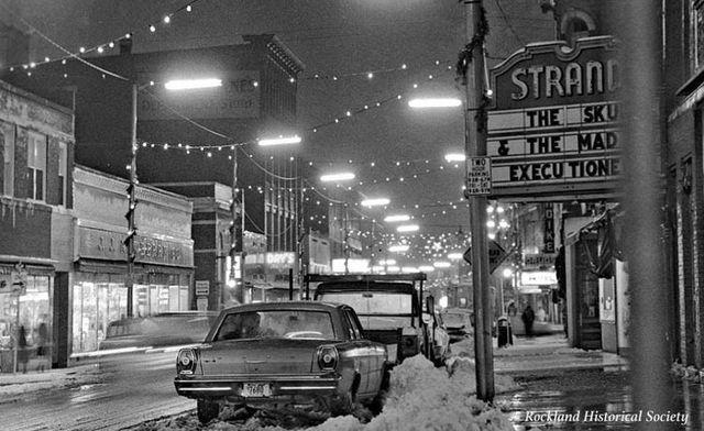 December 13, 1965 photo credit Rockland Historical Society.