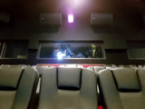 """[""""Cineworld, The Empire, Leicester Square – View into Superscreen Booth #3.""""]"""