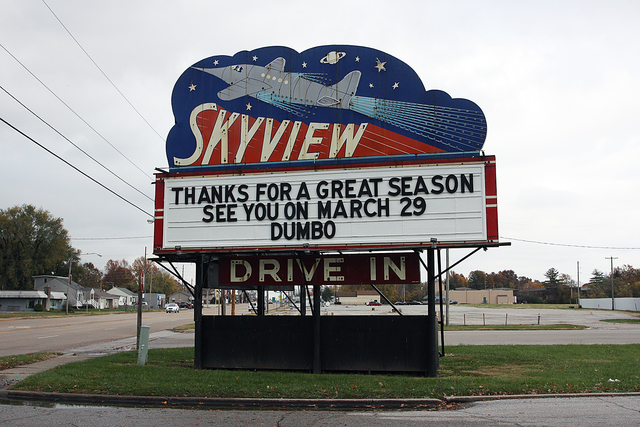 Skyview Drive-In, Belleville, IL