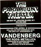 """[""""Paramount Theatre""""]"""