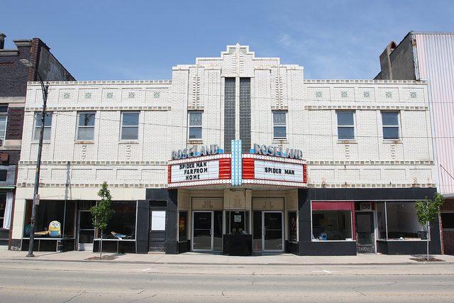 Roseland Theatre, Pana, IL