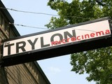 Trylon entrance sign