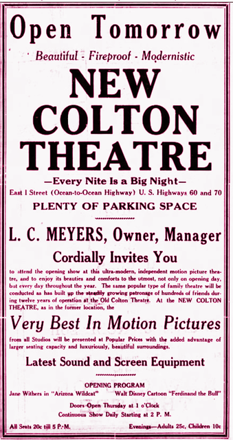New Colton Theatre