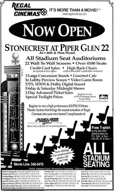 Regal Stonecrest at Piper Glen Cinemas